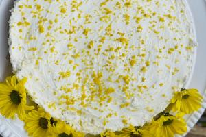 cheesecake mascarpone e limão